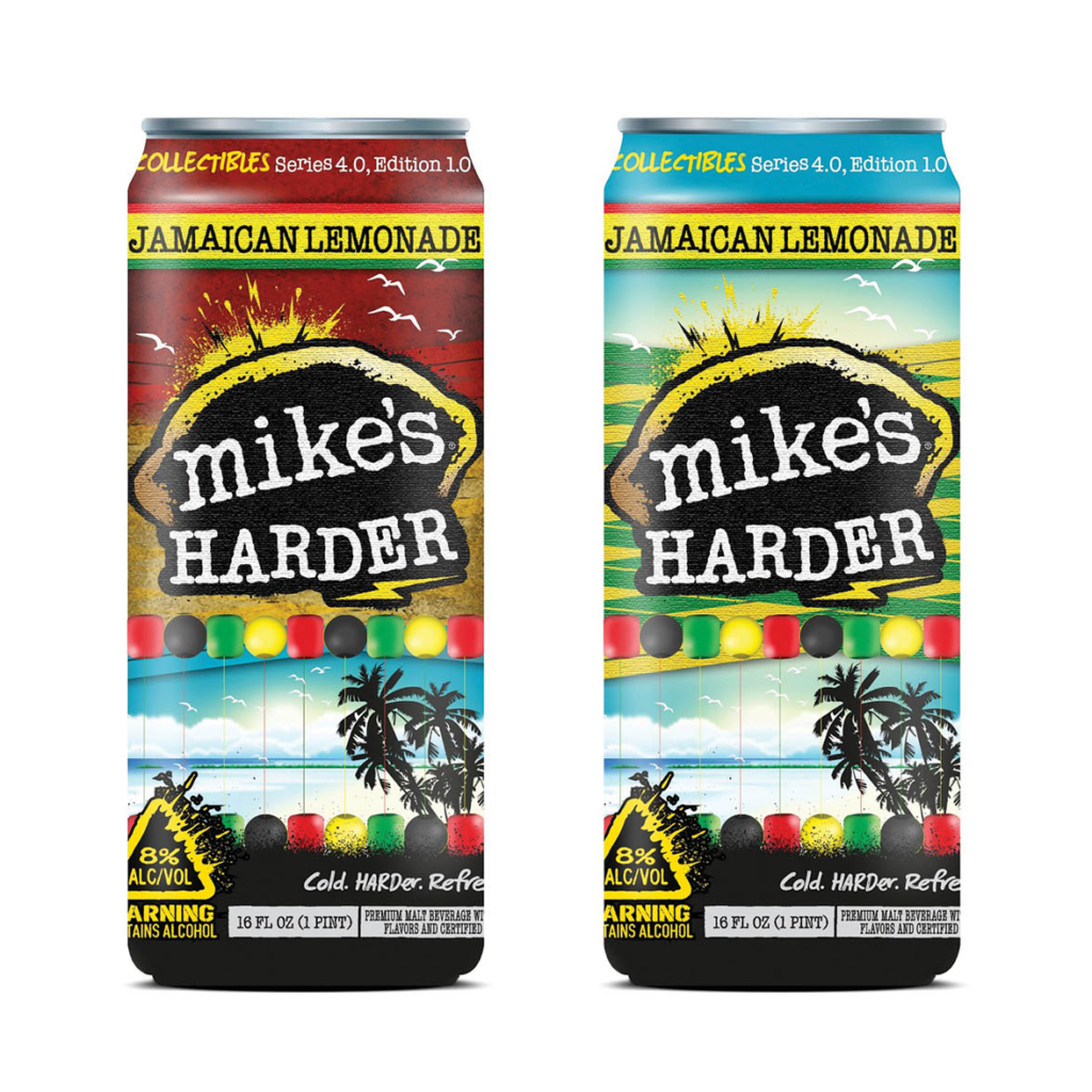 Mike's Harder. Label design