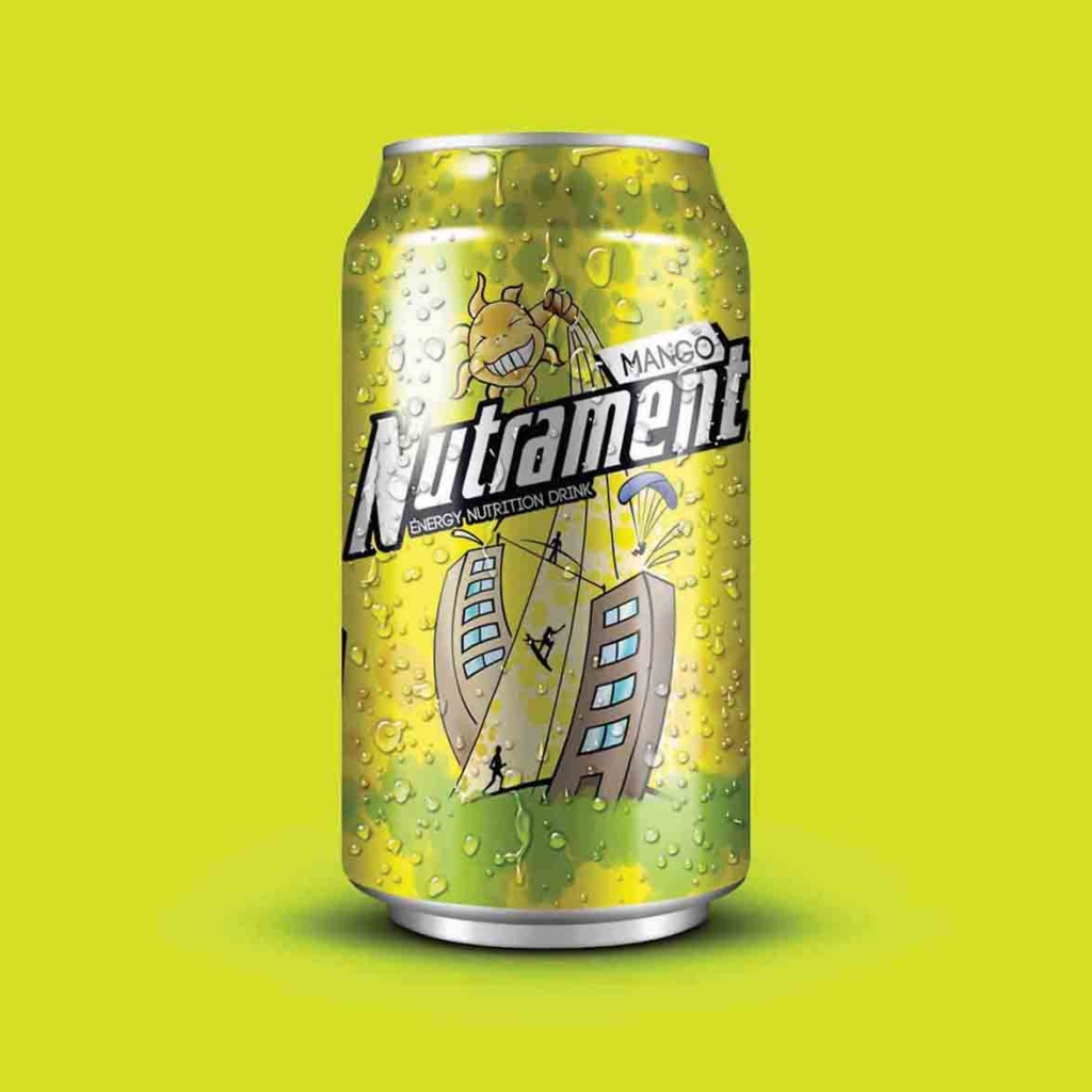 Nutrament. Label design