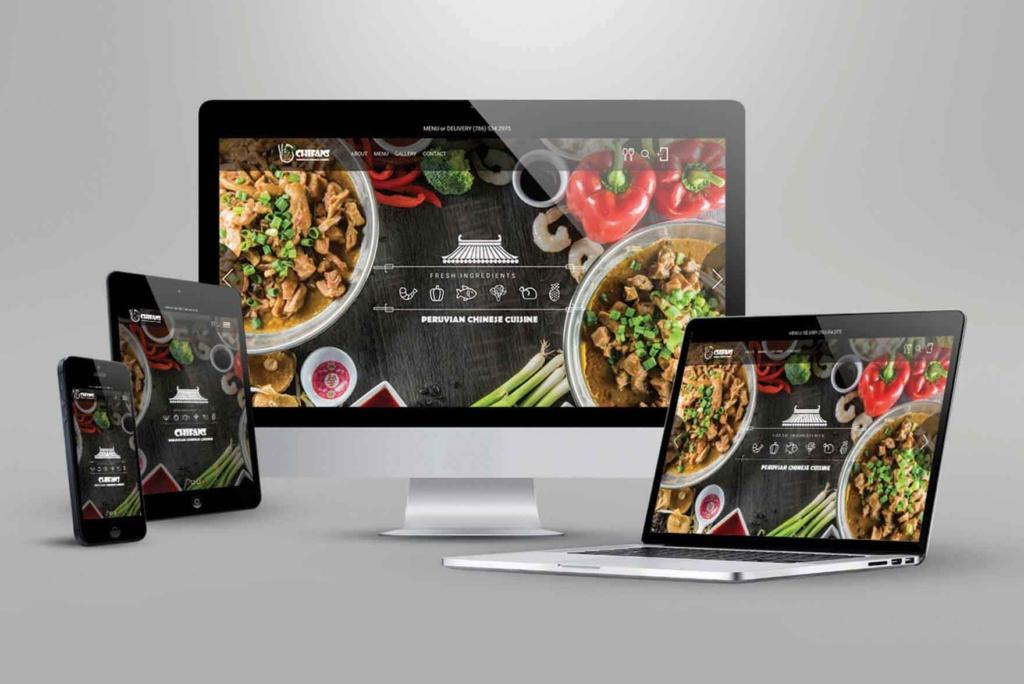 Chifans. Responsive web design